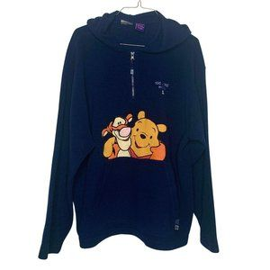 "Winnie the Pooh Vintage ""100 Acre Wood"" Fleece Zip"